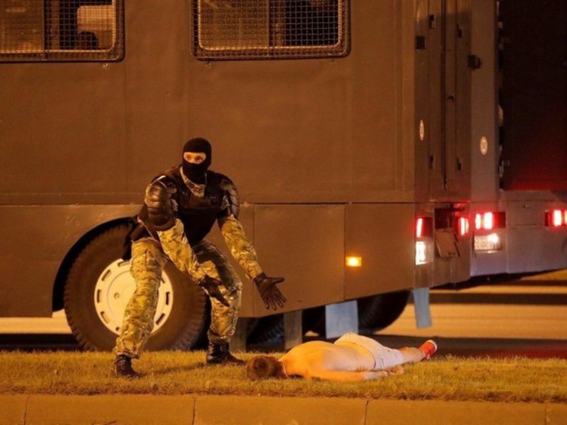 Людина, яку вважали загиблою під час протестів у Мінську, жива