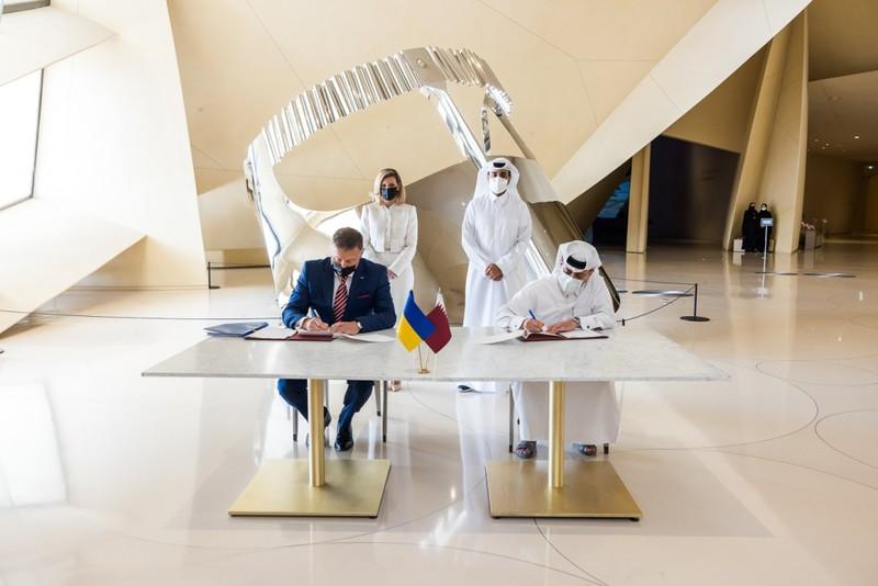У Національному музеї Катару запровадять україномовний аудіогід