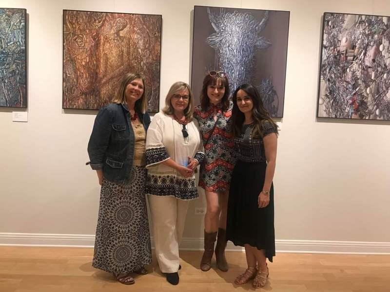Зірка Бродвею відвідала український музей у Чикаго