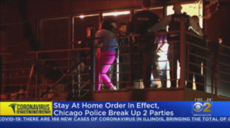 Поліція Чикаго припинила дві вечірки після введення наказу про ізоляцію