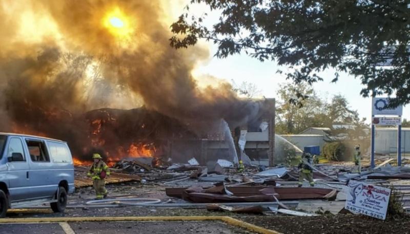 У США в торговельному центрі стався потужний вибух