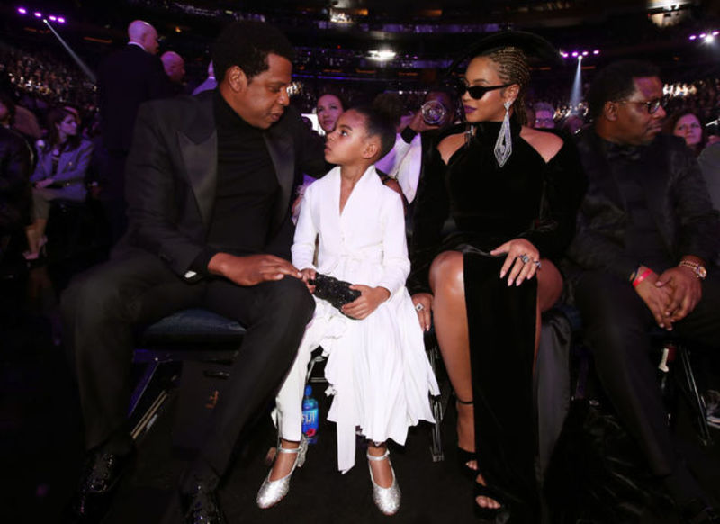 Beyonce's daughter wears ensemble by Ukrainian designer at Grammy Awards 2018