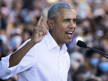 Експрезидент Обама підтримав кандидата-демократа напередодні губернаторських виборів у Вірджинії