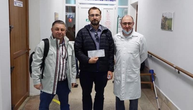 Канадський банк передав допомогу пораненому українському військовому