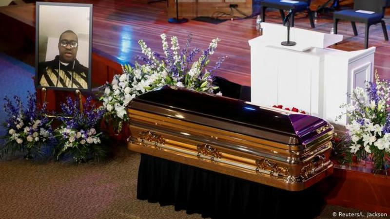 У Міннеаполісі пройшла церемонія прощання з Джорджем Флойдом
