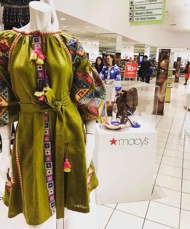 Українский бренд представлено у Вашингтонському Macy`s