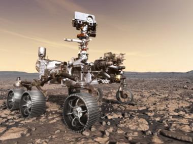 Марсохід виявив загадкові гірські породи на дні кратера