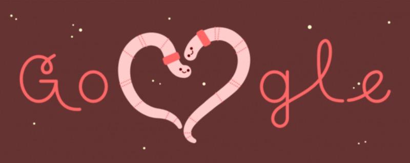 """Google підготував свіжий дудл до """"Дня святого Валентина"""""""