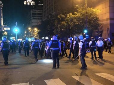 Чиказькі ночі: грабежі і стрілянина у Downtown