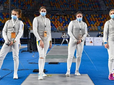 Фехтування: збірна України виборола першу медаль в історії юніорського чемпіонату світу