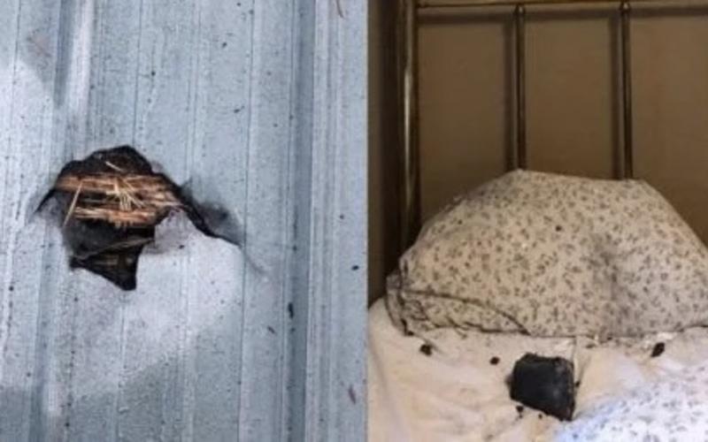 У Канаді метеорит врізався в будинок і впав на подушку сплячої жінки