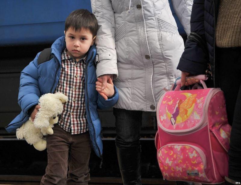 В Україні вже понад 1,2 млн біженців
