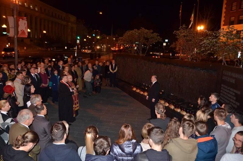 Українці Вашингтона вшанували річницю Голодомору