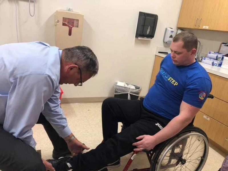 Пораненого в АТО українця оперуватимуть у Чикаго