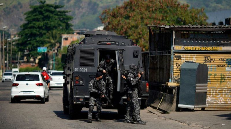 Під час стрілянини у Ріо-де-Жанейро загинули 25 людей