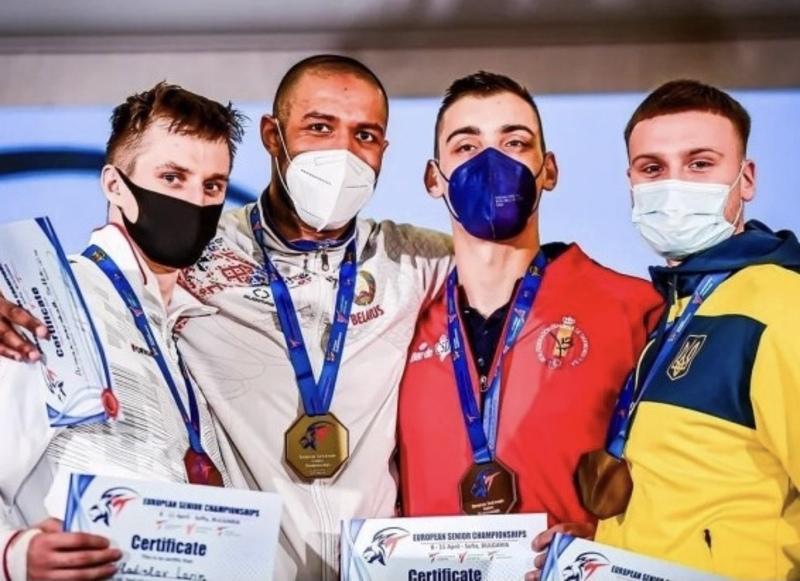 Український тхеквондист виборов медаль чемпіонату Європи
