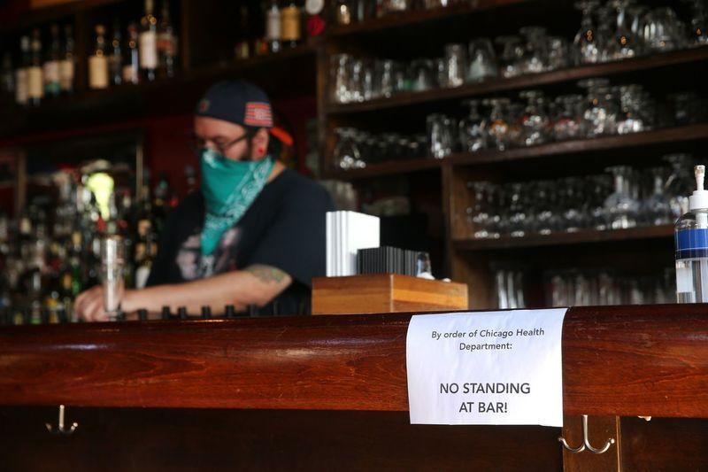 Барам Чикаго заборонили продавати алкоголь у приміщеннях